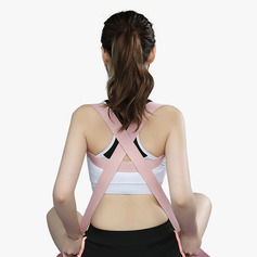 Multifunctional Stretchable Polyester / Cotton Yoga Stretch Strap
