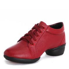 Naisten Aitoa nahkaa Tanssi sneakers Modern Jazz Tanssi sneakers Tanssikengät