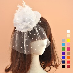 Ladies' Romantic/Vintage Net Yarn Fascinators