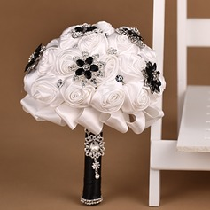 Elegant Satin Bridal Bouquets -