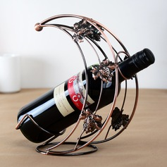 Modern/Contemporary simple classic Iron Wine Rack