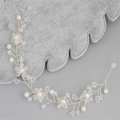 Glamourous Crystal/Imitation Pearls Headbands (Sold in single piece)