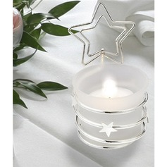Beautiful Bright Iron Candle Holder