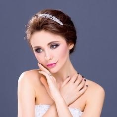 "Elegant Crystal/Rhinestone/""A"" Level Rhinestone Headbands"