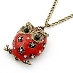 Cute Owl Alloy Ladies' Fashion Necklace