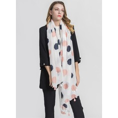 Polka Dots Light Weight/Oversized Polyester Scarf