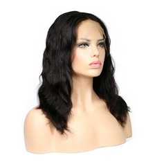 5A Virgin/remy Body Wavy Human Hair Lace Front Wigs