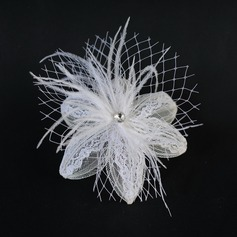 Fashion Feather/Lace Fascinators
