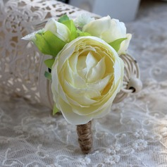 Charming Satin/Silk Boutonniere -