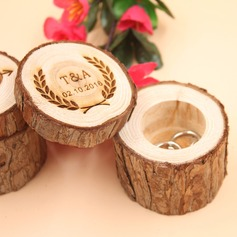 Personalized Ring Box in Wood (103186351)