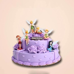Flower Fairy Ruantao Cake Topper (Set of 6)