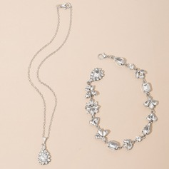 Unique Rhinestones With Rhinestone Ladies' Necklaces (011151389)