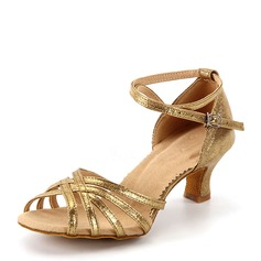 Women's Leatherette Sandals Latin Dance Shoes