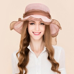 Ladies' Elegant Silk With Bowknot Floppy Hats