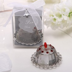 Cupcake Design Crystal Keepsake
