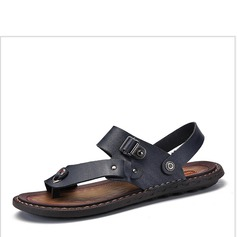 Men's Microfiber Leather Casual Men's Sandals