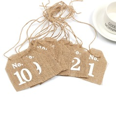 Linen Place Card Holders