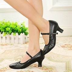 Women's Real Leather Pumps Character Shoes Dance Shoes
