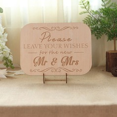 Simple Guestbook Sign With Easel