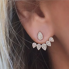 Beautiful Alloy Rhinestones With Rhinestone Ladies' Fashion Earrings (137121787)