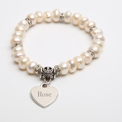 Personalized Pearl Ladies'/Child's Bracelets (011054904)