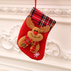 Flannelette Stockings Christmas Stocking (Sold in a single piece)