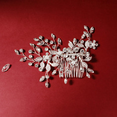 Ladies Beautiful Rhinestone Combs & Barrettes With Rhinestone (Sold in single piece)