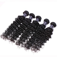 4A Deep Human Hair Human Hair Weave (Sold in a single piece)