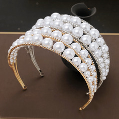Ladies Beautiful Rhinestone/Alloy/Pearls Tiaras