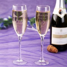 Personalized Getting Together Crystal Toasting Flutes (Set Of 2) (126037867)