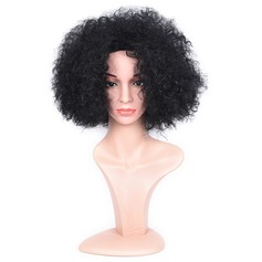 Kinky Curly Synthetic Hair Capless Wigs 130g
