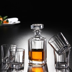 Groom Gifts - Modern Glass Decanter Set