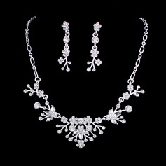 Gorgeous Alloy Crystal Women's Jewelry Sets