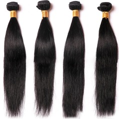 4A Non remy Straight Human Hair Human Hair Weave (Sold in a single piece) 50g