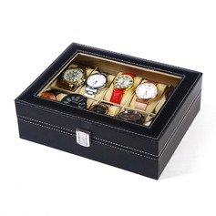 Groom Gifts - Modern Leather Watch Box (257177803)