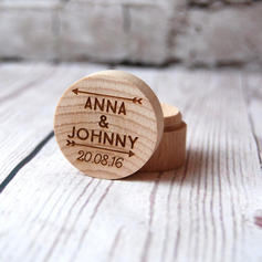 Elegant/Vintage Charm/Personalized Wood Ring Box