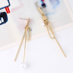 Nice Alloy Copper Ladies' Fashion Earrings