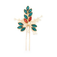 Fashion Alloy Hairpins (Sold in single piece)