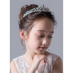 Alloy With Rhinestones Tiaras