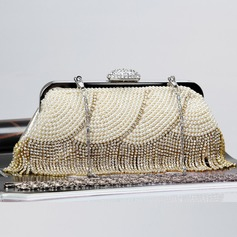 Bright Crystal/ Rhinestone/Imitation Pearl/Alloy Clutches/Satchel