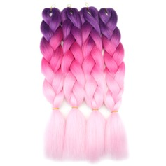 Straight Synthetic Hair Braids (Sold in a single piece) 150g