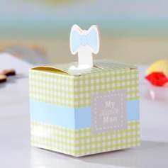 """My Little Man"" Cuboid Card Paper Favor Boxes"
