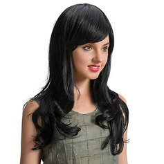 4A Non remy Kinky Straight Human Hair Capless Wigs