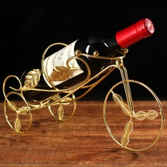 simple classic cute Plating Wine Rack