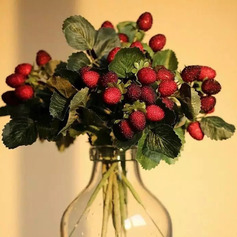 Lovely Free-Form Emulational Berries Decorations (set of 5) -