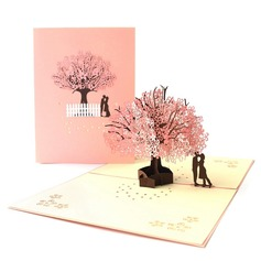 Artistic Style Side Fold Invitation Cards  (114205141)
