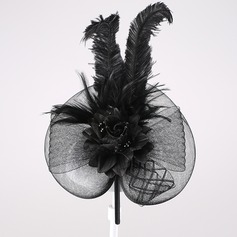 Fancy Feather/Cambric Fascinators/Headbands