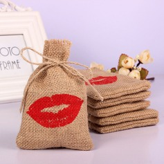 Lovely/Single Handbag shaped Linen Favor Bags