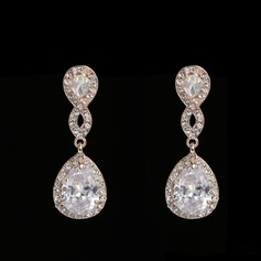 Fashional Alloy Rhinestones With Rhinestone Ladies' Fashion Earrings (137106220)
