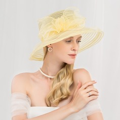 Ladies' Fashion/Simple/Romantic/Vintage Polyester Floppy Hats/Kentucky Derby Hats/Tea Party Hats